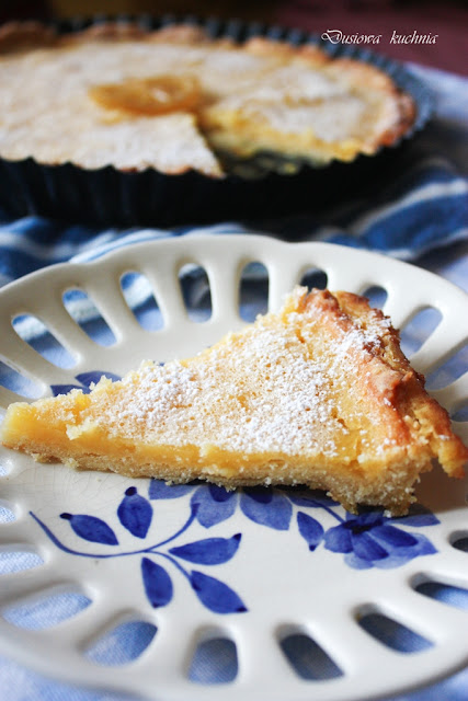 tarta cytrynowa, przepis na tartę cytrynową, kruche ciasto, przepis na tartę, lemon tart,