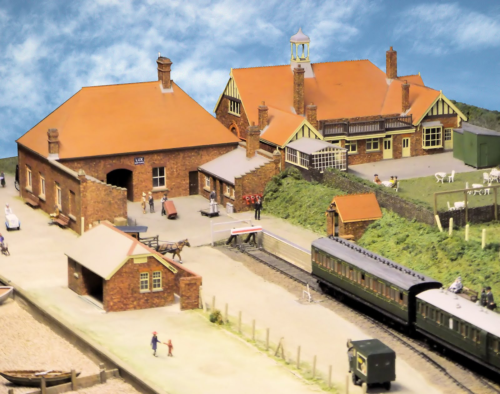 Model of Lee station