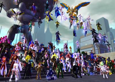 City of Heroes бесплатная игра