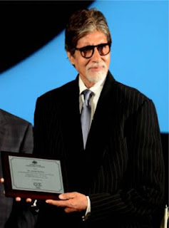 Big B felicitated by Australian government