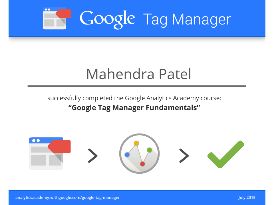 Mahendra Patel - Digital Marketing / Web Analyst Professional Pune ...