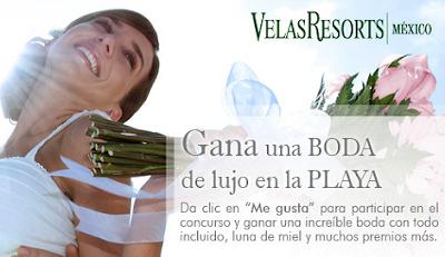 premio boda de lujo en la playa Velas resorts Mexico 2011