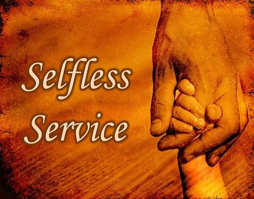 selfless service essay
