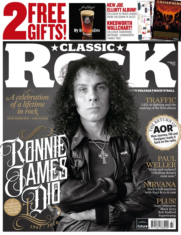FM featured in July 2010 issue of Classic Rock magazine