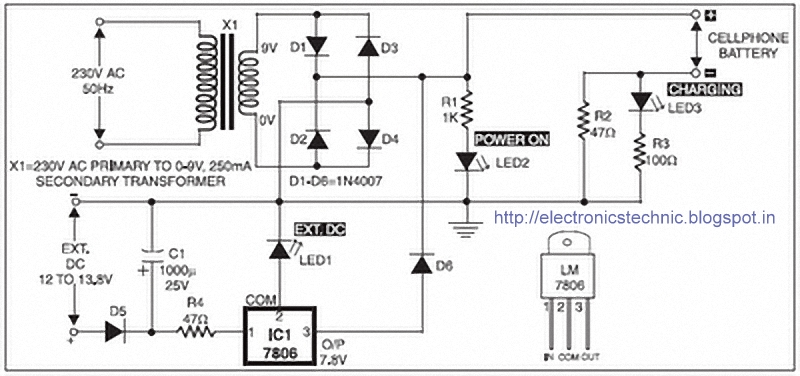 Mobile%2BPhone%2BBattery%2BCharger%2BCircuit coin based mobile charger circuit diagram pdf efcaviation com cell phone charger wiring diagram at aneh.co