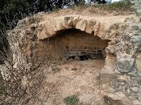 Forn de cocció situat a la vila romana de l'espelt del S. II-I a.C