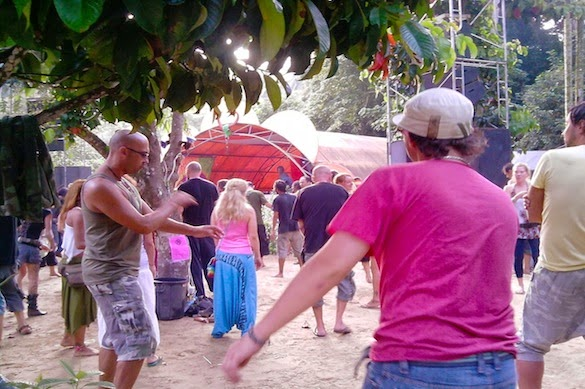 psy trance jungle party koh phangan