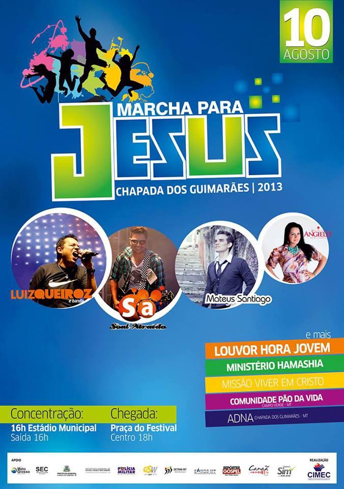 18ª Marcha Para Jesus Chapada dos Guimarães