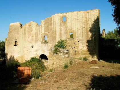 Façana de migdia del Girbau de Dalt