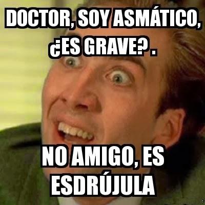 Doctor soy asmatico es grave