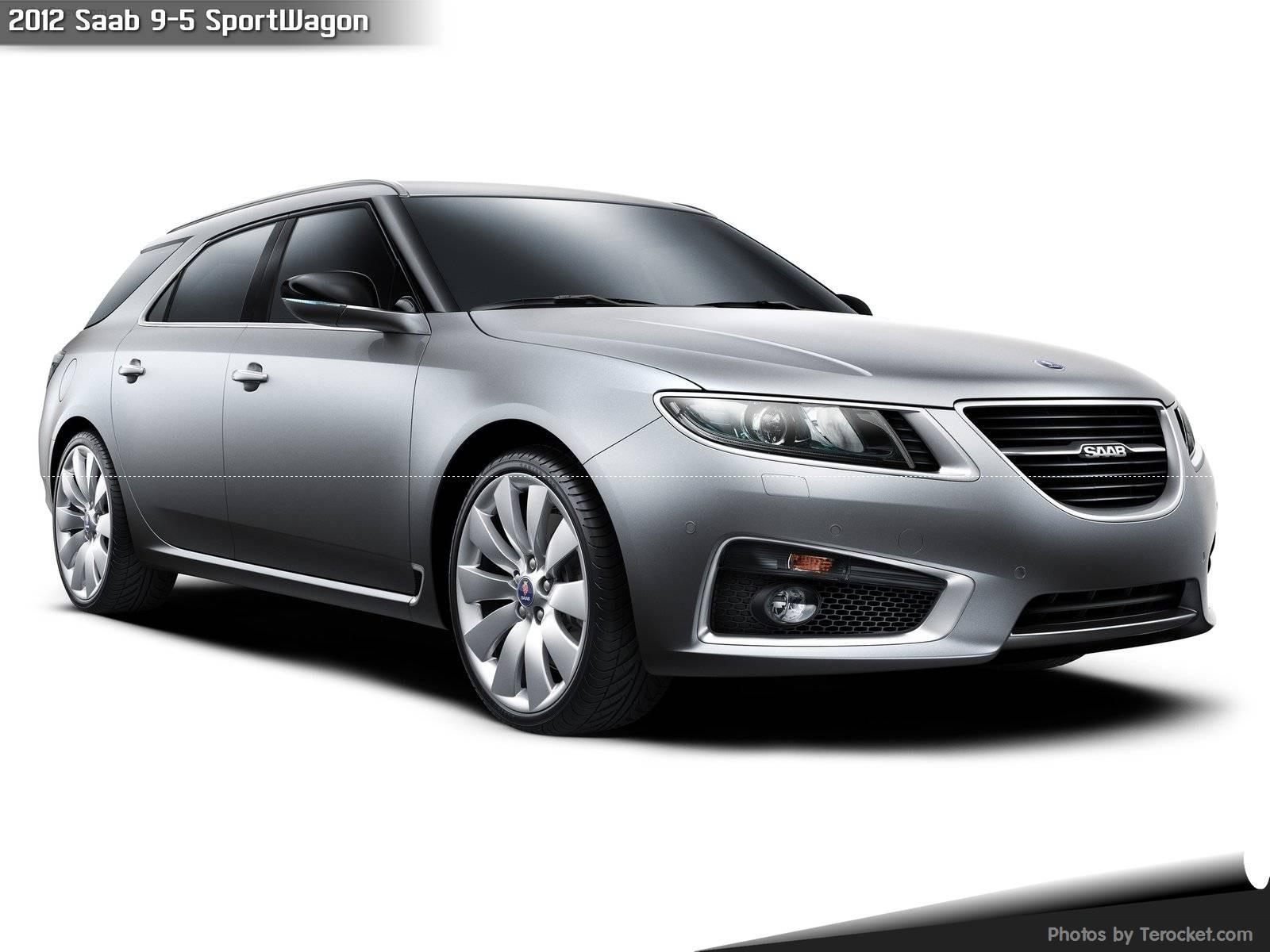 Hình ảnh xe ô tô Saab 9-5 SportWagon 2012 & nội ngoại thất
