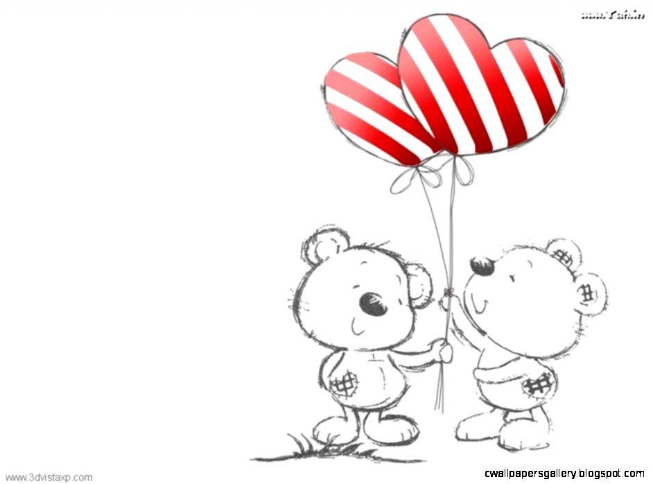 Wallpapers Cute Bears Love Teddies Teddy Yah In 1024x768  94599