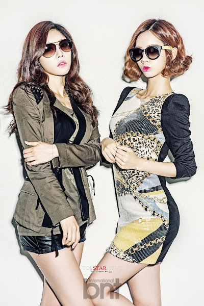 Sojin Hyeri Girl's Day bnt international