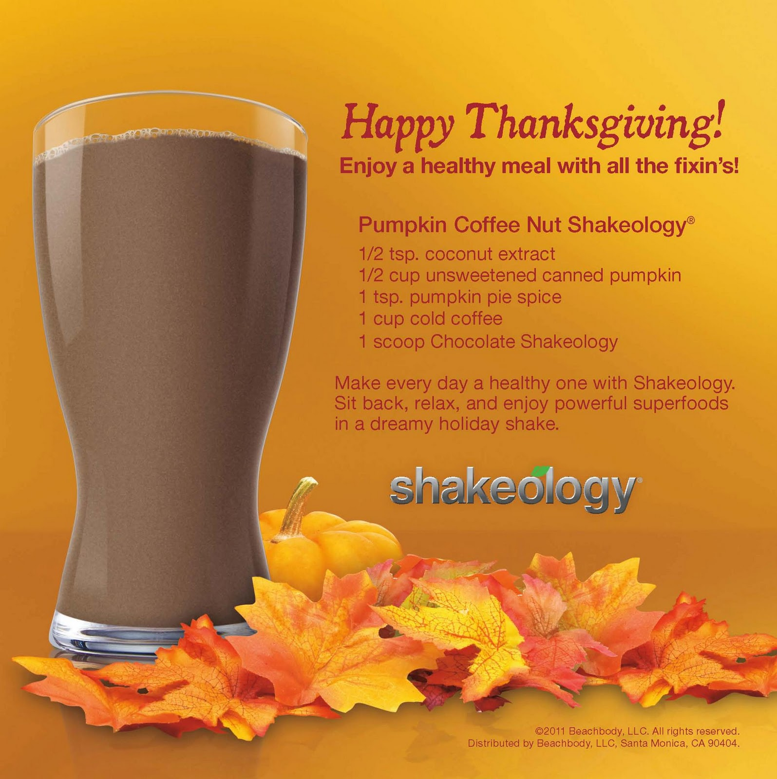 Committed to Get Fit: Holiday Shakeology Recipes
