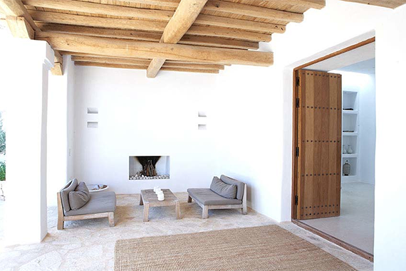 Can Xicu, Ibiza. Design by Blakstad