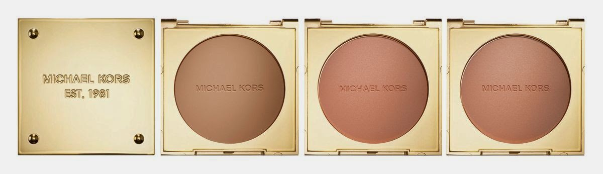 Bronze Powder Glow, Flush, Beam by Michael Kors