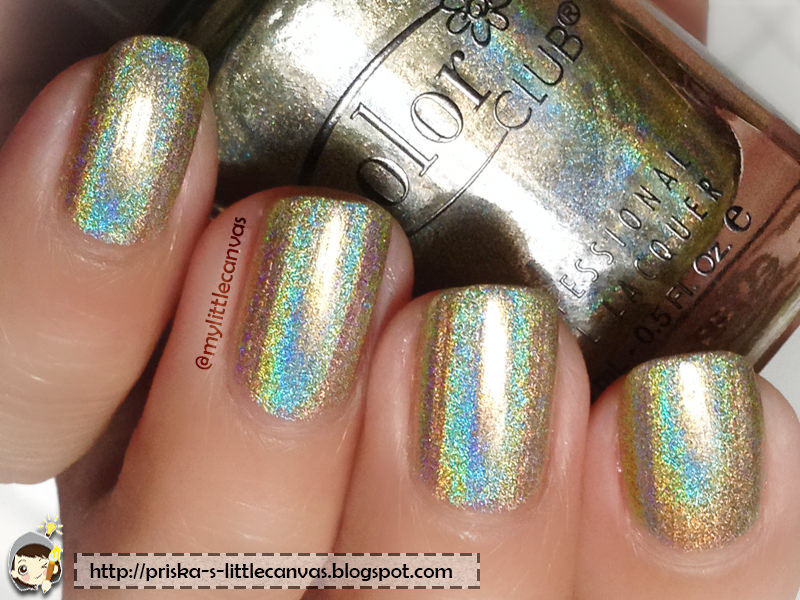 Color Club Holographic Nail Polish : Kismet