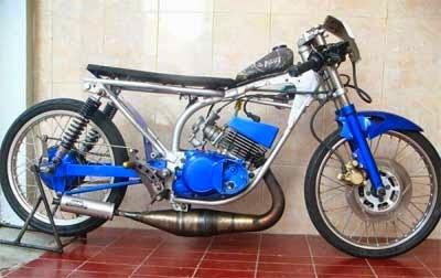gambar motor drak balap liar