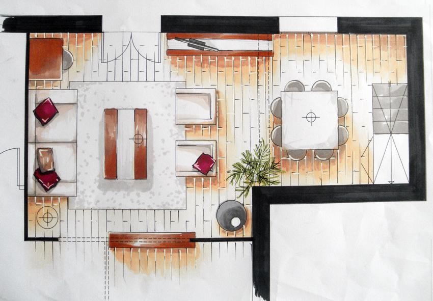 Am Esquisse - Architecture D'Intérieur Et Décoration: Aménagement