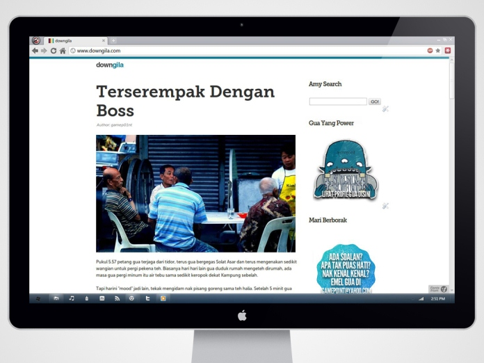 downgila blog design cara buat template blog