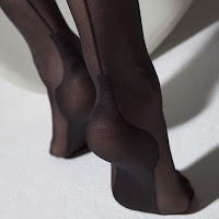 stockings with seam