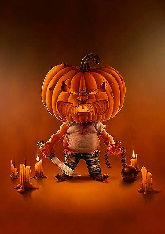 Halloween Pumpkin de Lucas Somariva