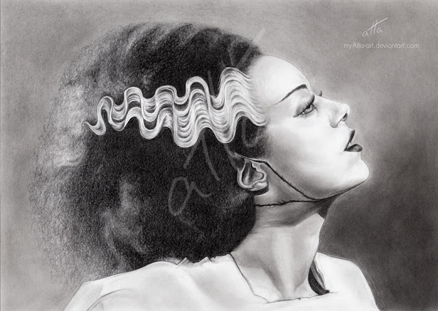Bride of Frankenstein by myAtta-art  Bride Of Frankenstein Actress