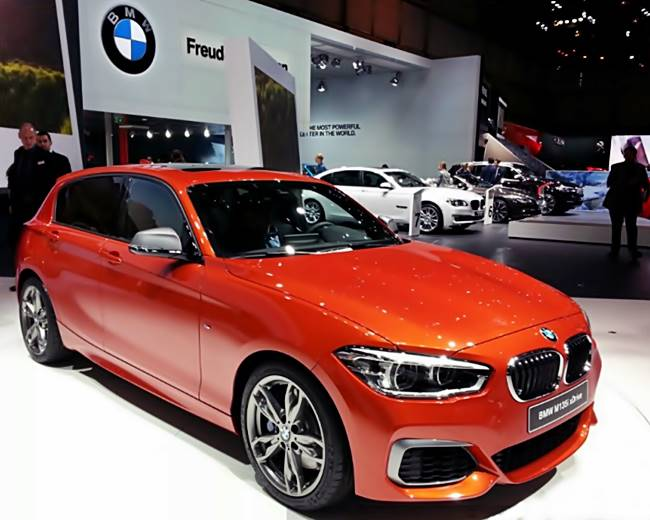 2018 BMW 1 Series F20 Rear-Wheel Drive