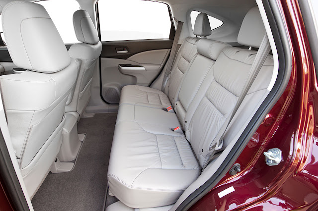 2012 Honda CR-V interior back