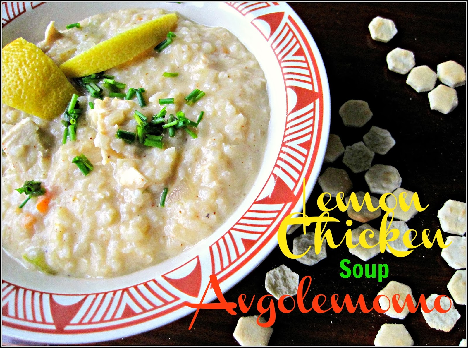 Avgolemono Lemon Rice and Chicken Soup Recipe, a classic tangy and creamy soup, done in just about 30 minute, just what we need in a cold winter night or any night