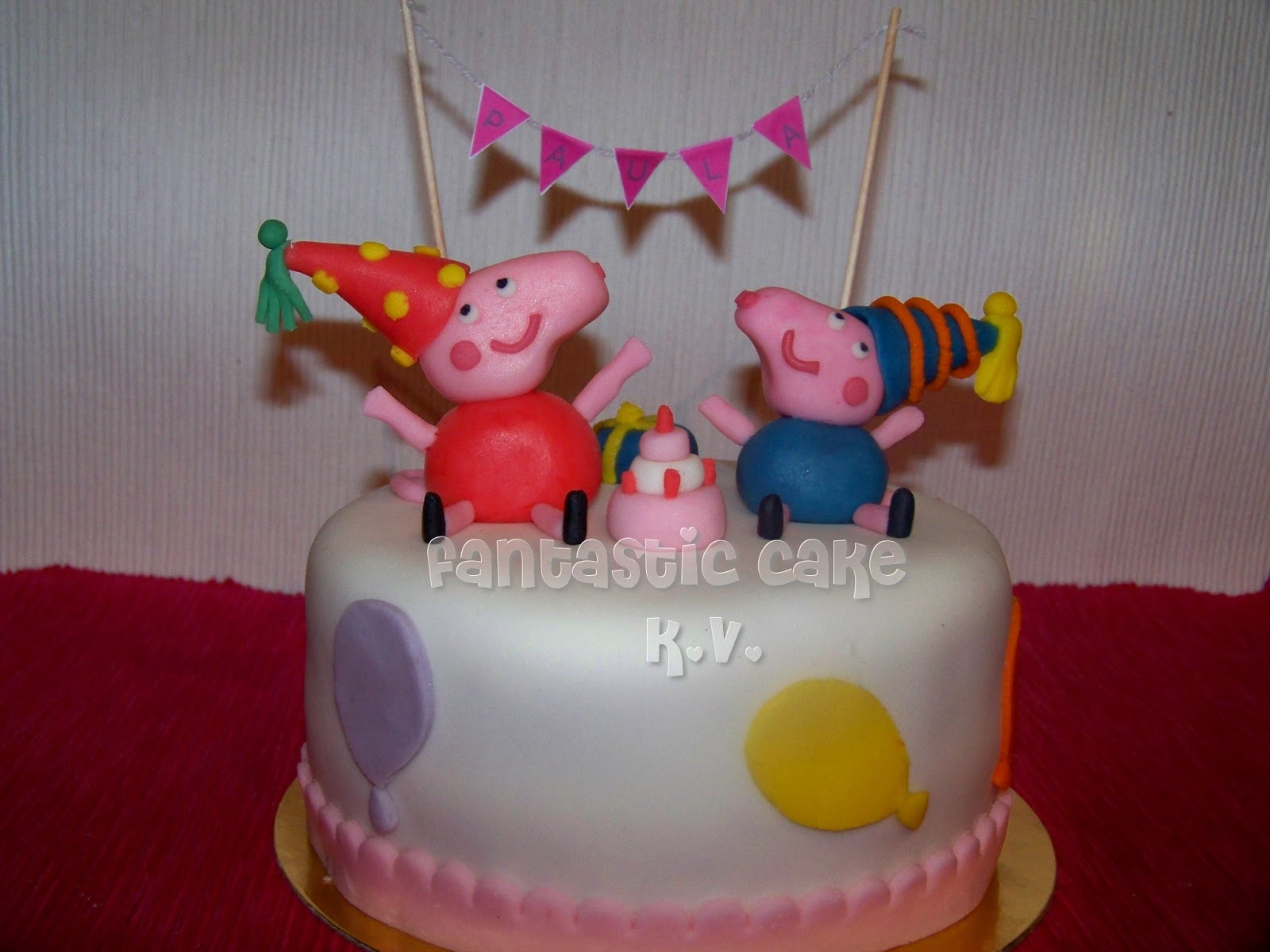 Tarta Peppa Pig Cocina / General Fantasticcake