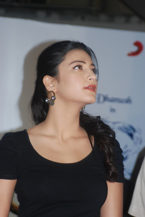 shruti han new @ 3 movie audio launch glamour  images