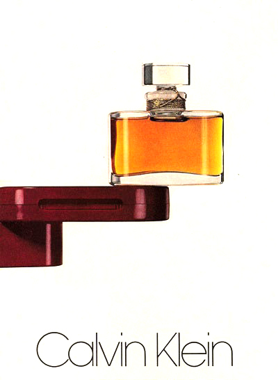 Calvin Klein Classic perfume campaign photographed by Irving Penn 1978 / fashioned by love