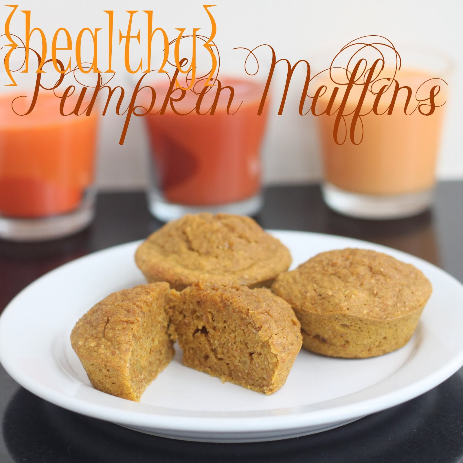 Pumpkin Muffins (healthy!) - Nap-time Creations