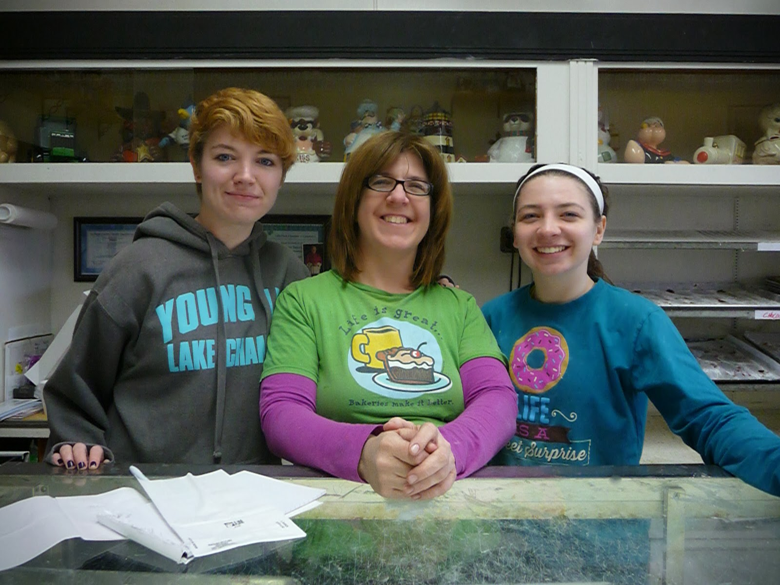 Robbie, Dawn, and Kasie Hanrahan, Kuppie's Bakery