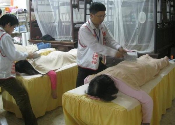 The Chinese Knife Massage