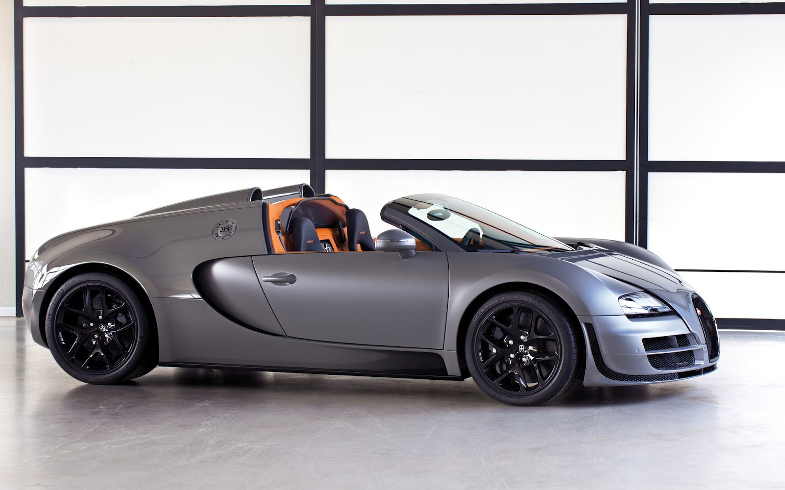 sport cars  bugatti veyron grand sport vitesse hd wallpapers 2012
