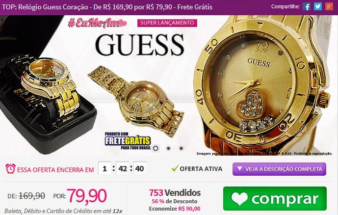http://www.tpmdeofertas.com.br/Oferta-TOP-Relogio-Guess-Coracao---De-R-16990-por-R-7990---Frete-Gratis-222.aspx