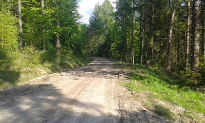 Trasa rowerowa w Jaworkach