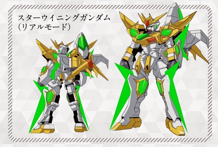 Star Winning Gundam - Real Mode