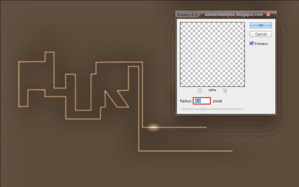 Membuat Efek Cahaya Menggunakan Photoshop