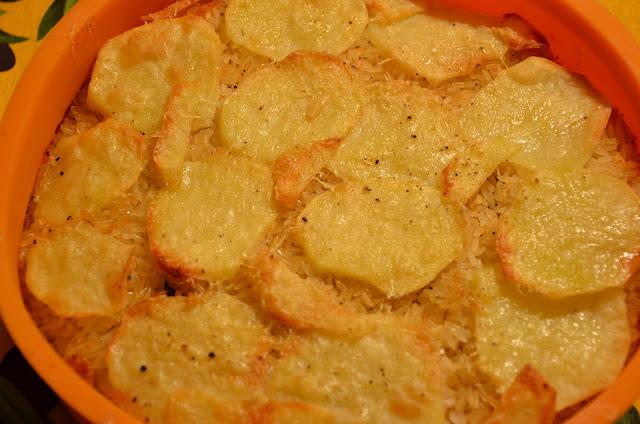 tiella cozze e patate