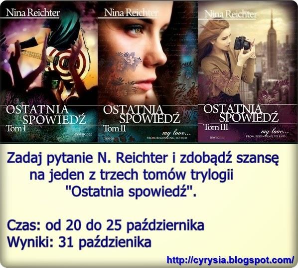 http://cyrysia.blogspot.com/2014/10/konkurs-z-nina-reichter.html