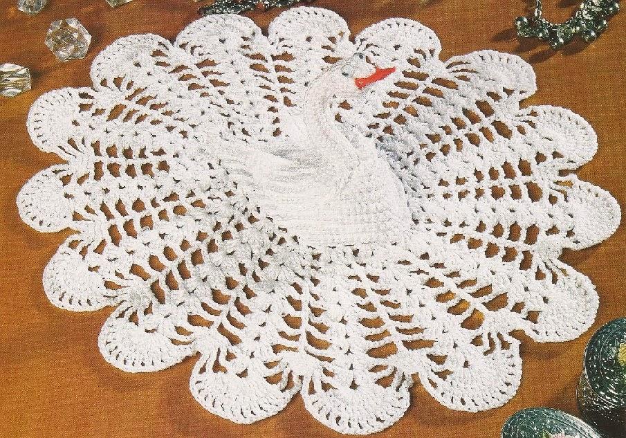 Cisne a Crochet paso a paso   Tejidos a Crochet con Edith
