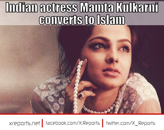 Indian actress Mamta Kulkarni converts to IslamMamta Kulkarni 2013