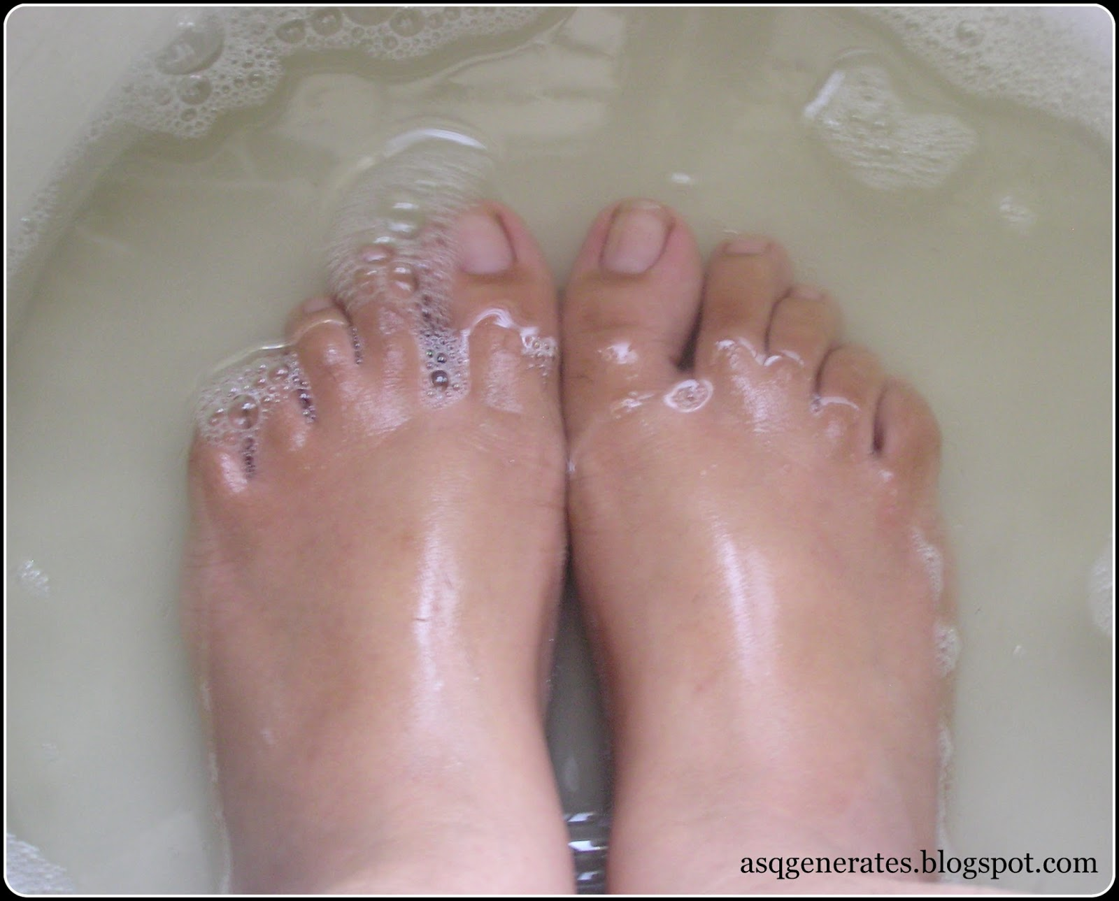 How To:Pedicure step 5