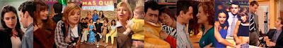 Escenas de la serie de Telecinco Más que amigos