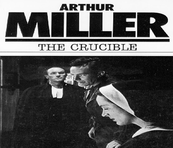 the crucible what does arthur miller Arthur miller is a great author that uses many forms of syntax, figurative language, and diction to enhance his writing throughout the crucible.