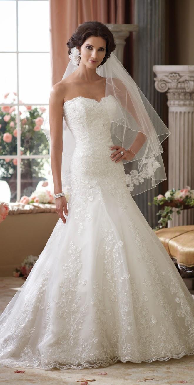 David tutera for mon cheri spring 2014 bridal collection for David tutera wedding dresses