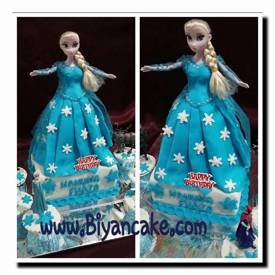 Barbie cake elsa frozen ~ Dyda